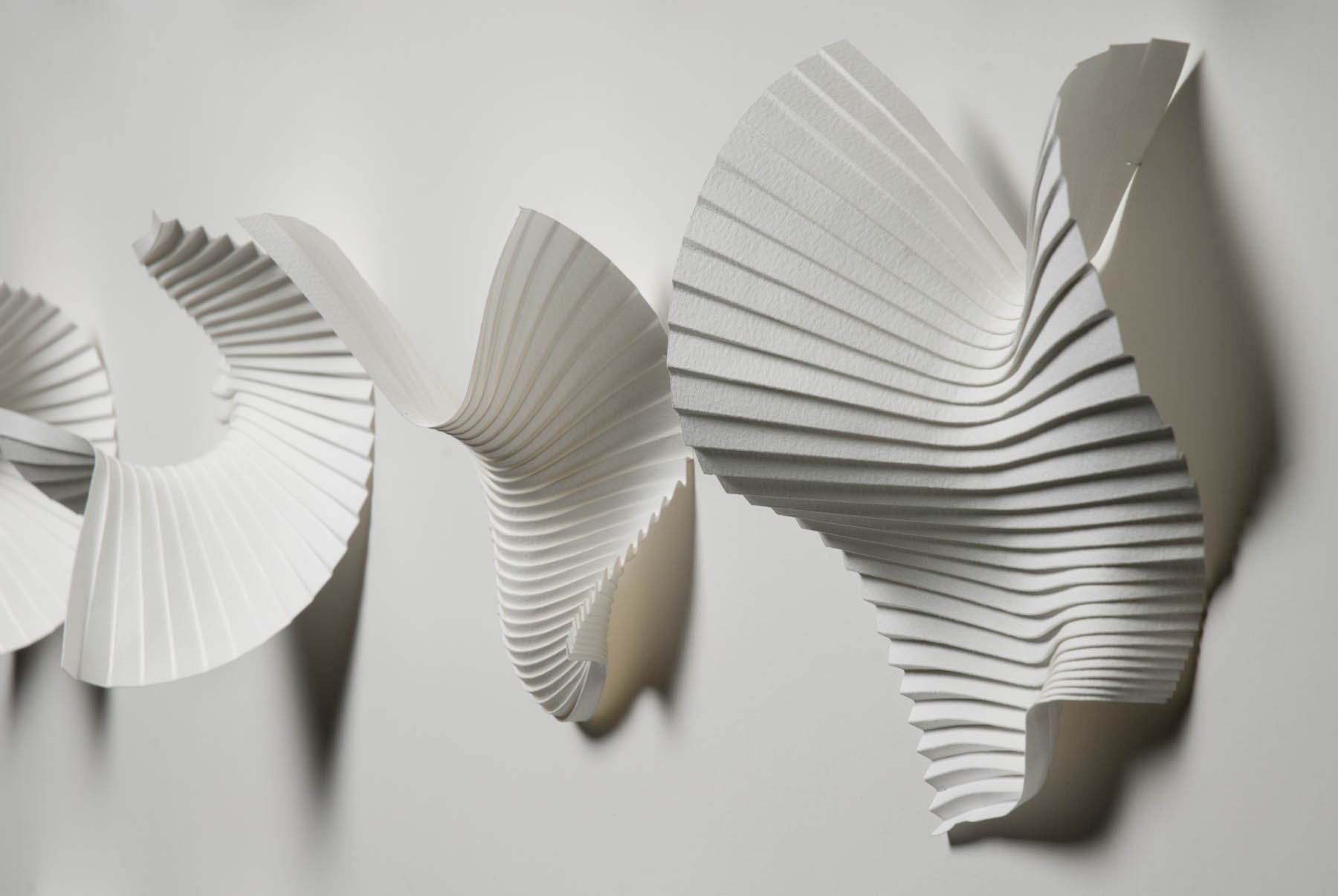 moving paper sculptures
