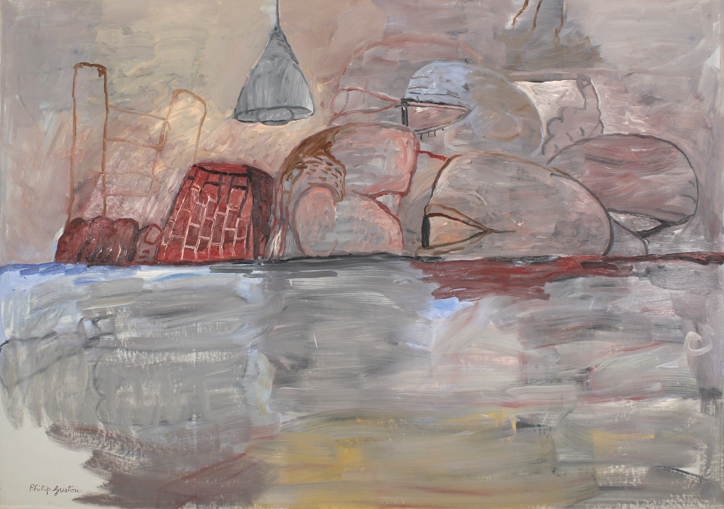 The life and works of philip guston