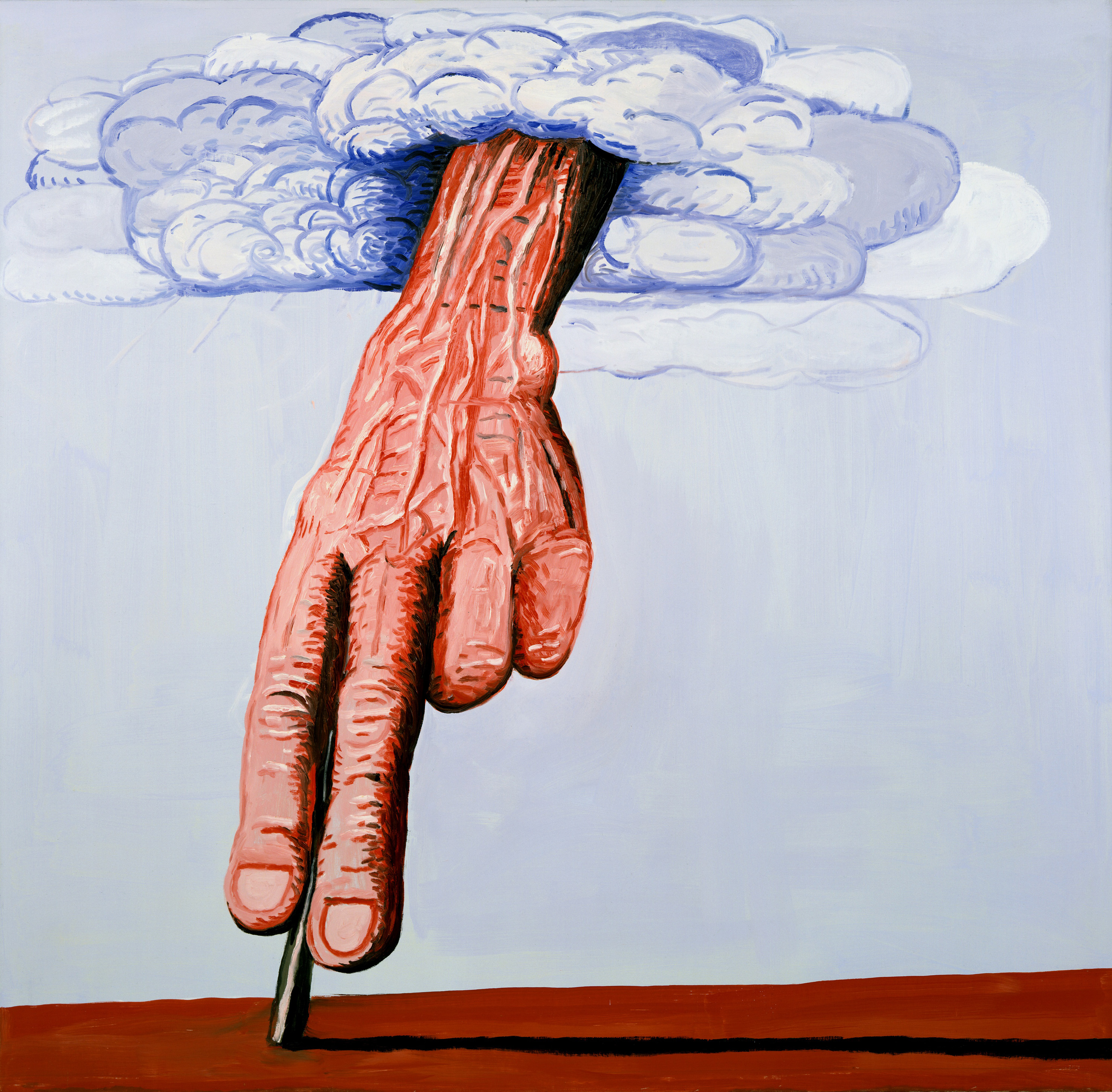 the life and works of philip guston 'philip guston: a painter's forms, 1950-1979' looks back on three  rich  symbolism of his work, while offering hints of the painter's daily life and.
