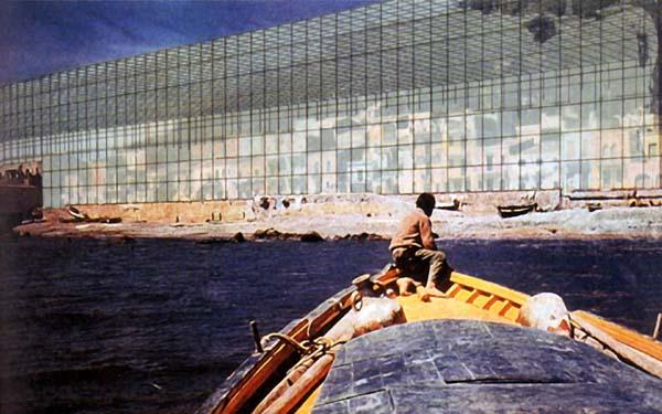 Superstudio, Monumento Continuo, 1969.