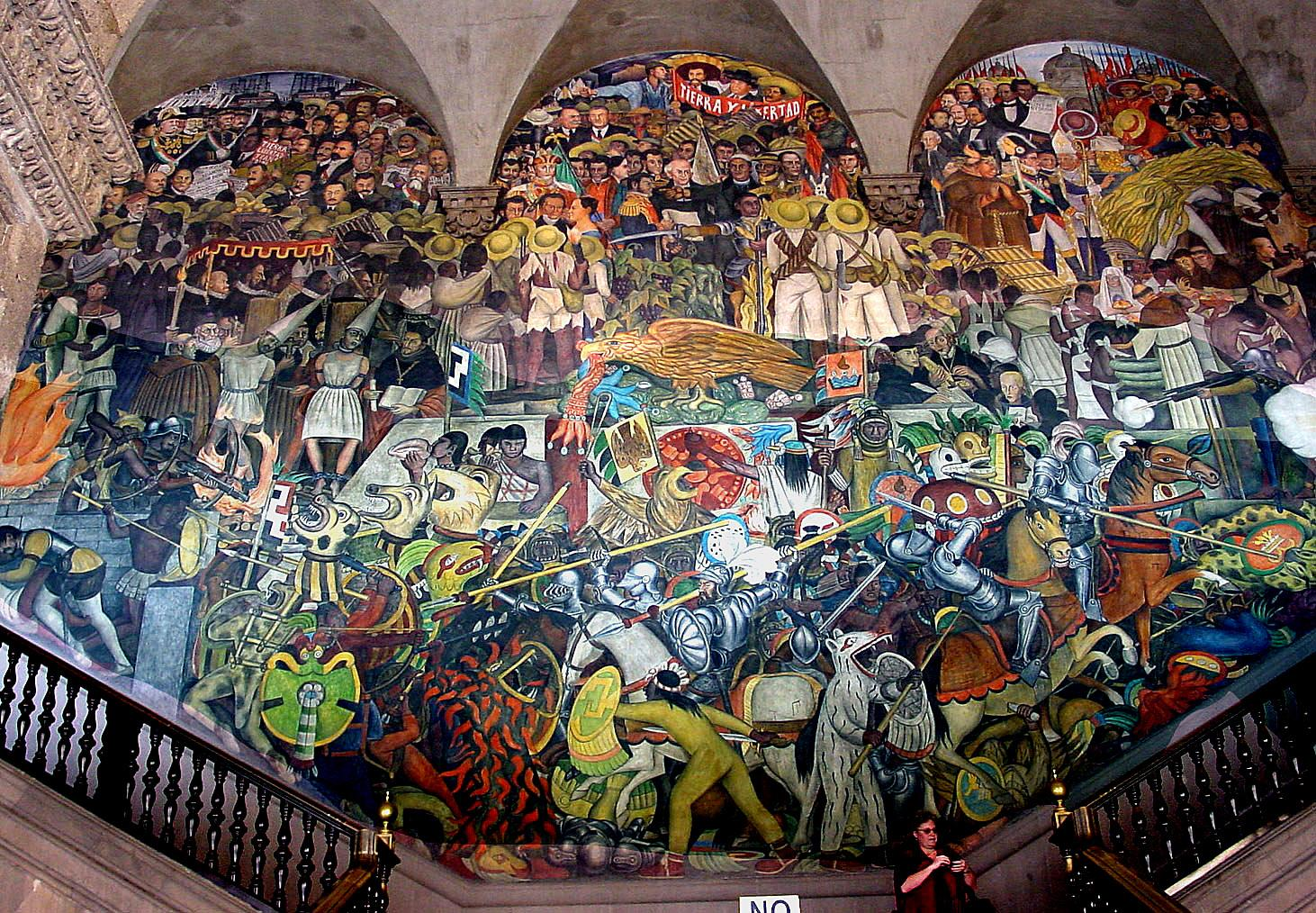 Penccil diego rivera for Diego rivera mural