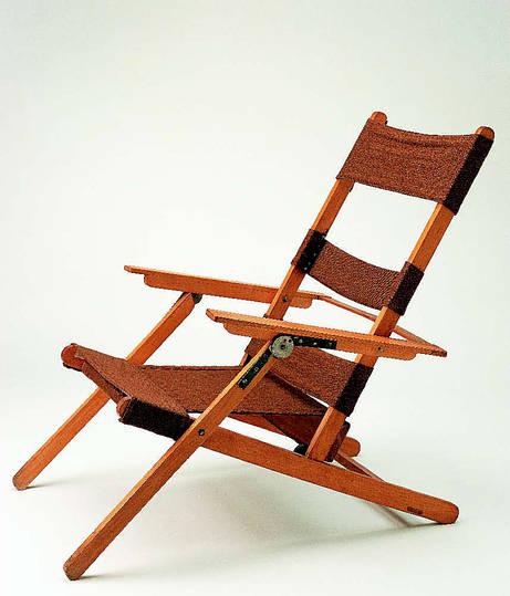 anonymous bauhaus dessau joinery workshop fold away chair 1929. Black Bedroom Furniture Sets. Home Design Ideas