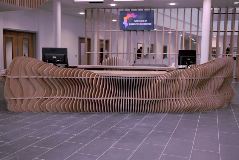 FLOW by Lazerian: FLOW completed in the new £10 million Clarendon College campus