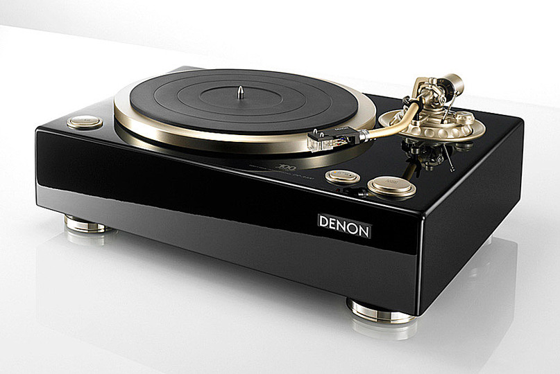 Trends in audio design: Retro: Denon DP-A 100