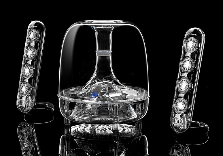 Trends in audio design: Transparent: H/K SoundSticks III Wireless