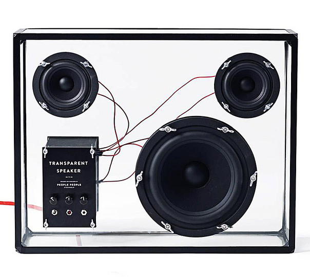 Trends in audio design: Transparent: People People Transparent Speaker