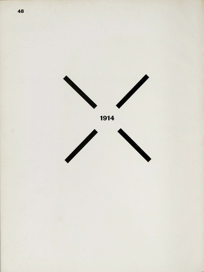 El Lissitzky and Hans Arp: The Isms: