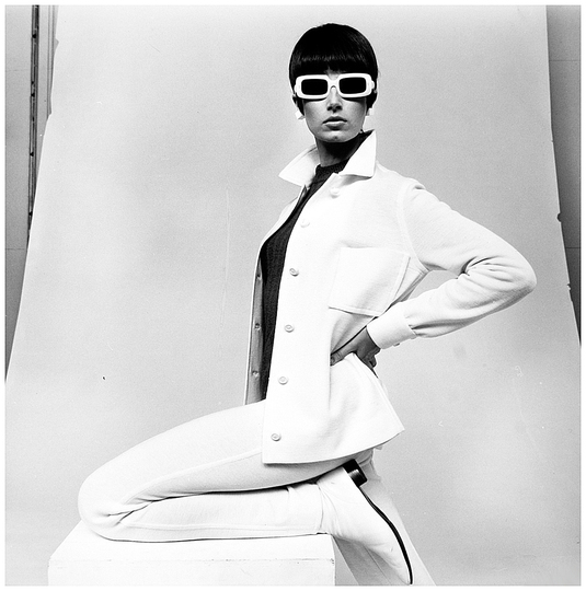Woman. Black. White.: Bettina Lauer by  F. C. Gundlach