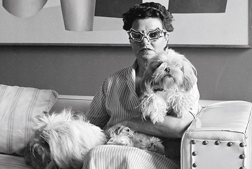 Woman. Black. White.: Portrait of Peggy Guggenheim, Oswald Kofler