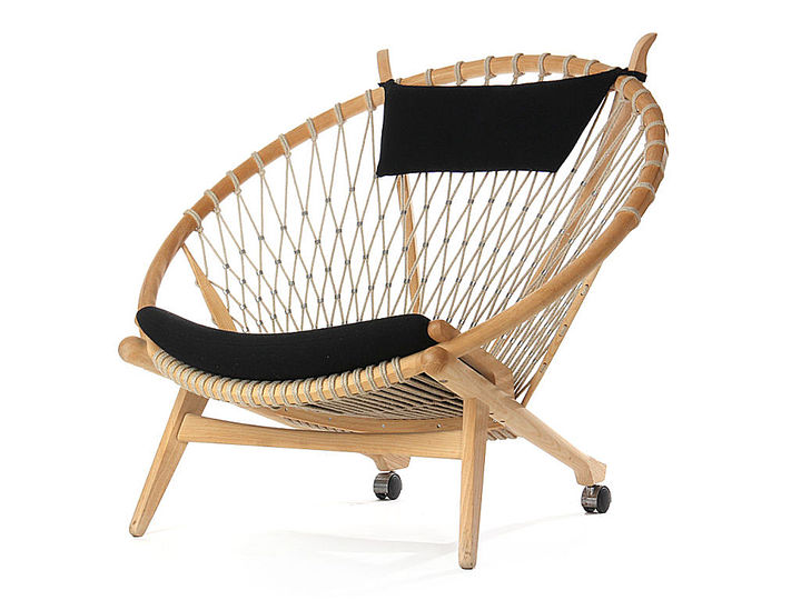 Summer seating: Hoop chairs by Raymond Loewy, Hans J. Wegner and Franco Albini