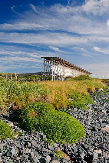 Steilneset Memorial by Bourgeois and Zumthor: