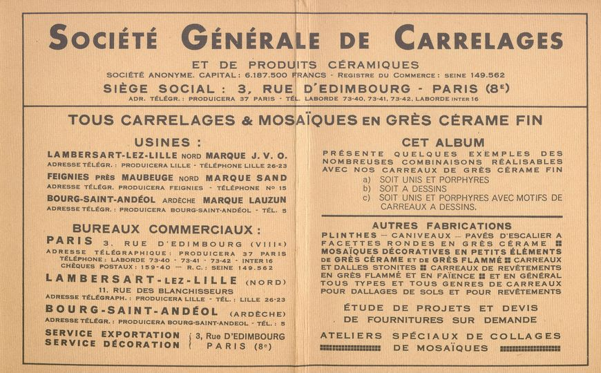 Carreaux: