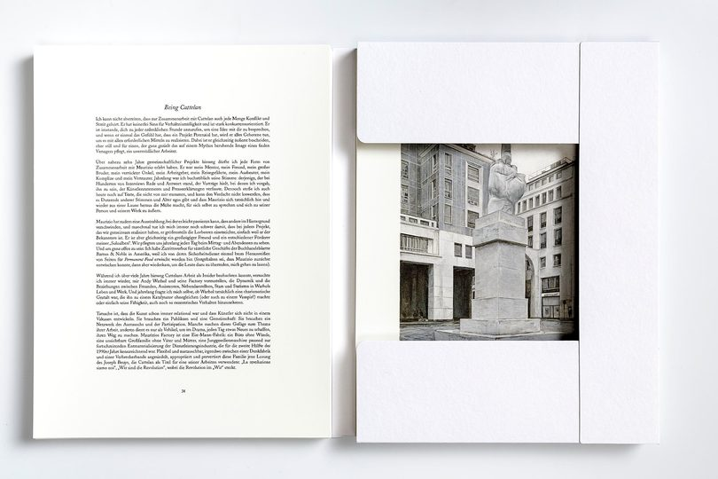Book : Cattelan: