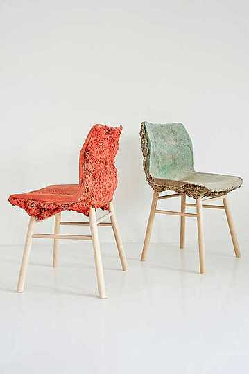 Foam wood chair