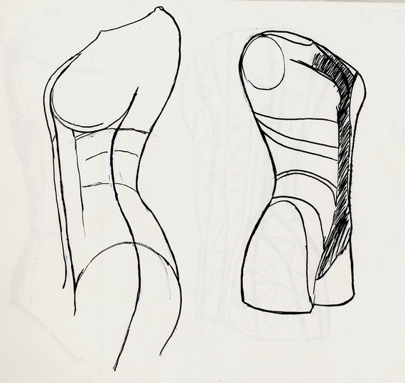 Sketches: Sketch for the Body