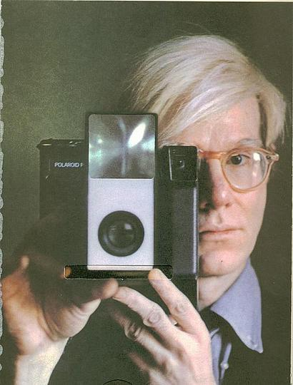 What was in Andy´s Cabinet?: Andy with Polaroid