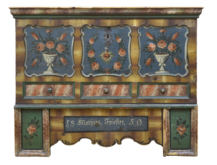 A Flat Named Desire: Sideboard in the dining room of Sigmund Freud, Berggasse, Vienna