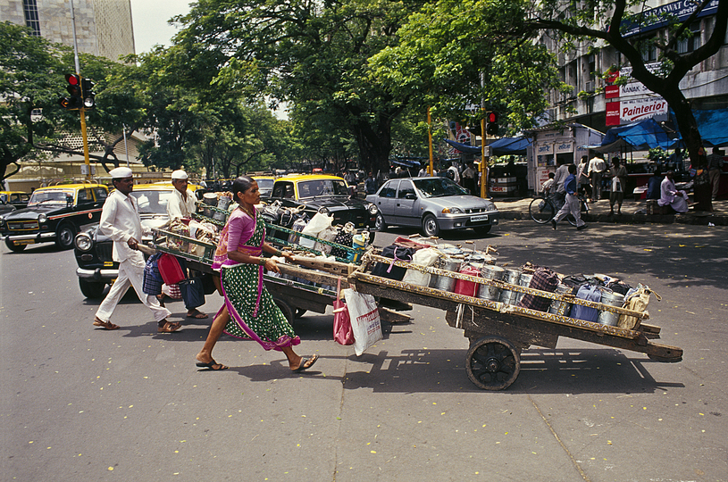 Food Architecture: RMA Architects, Dabbawala Lunch Delivery System, 2014 Mumbai, Photo Credits : Rajesh Vora