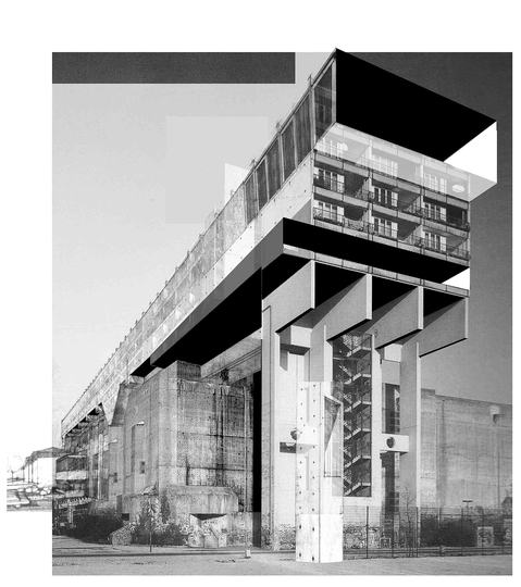 Carmelo Baglivo: Architectural Collage: