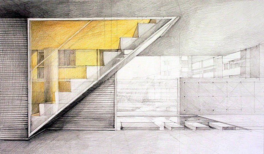 sketching contemporary space: