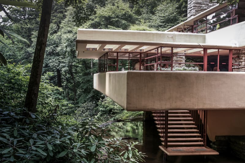 Fallingwater: The house is now used as a tourist destination with tickets starting at $30 for adults and a range of different tours and passes available.