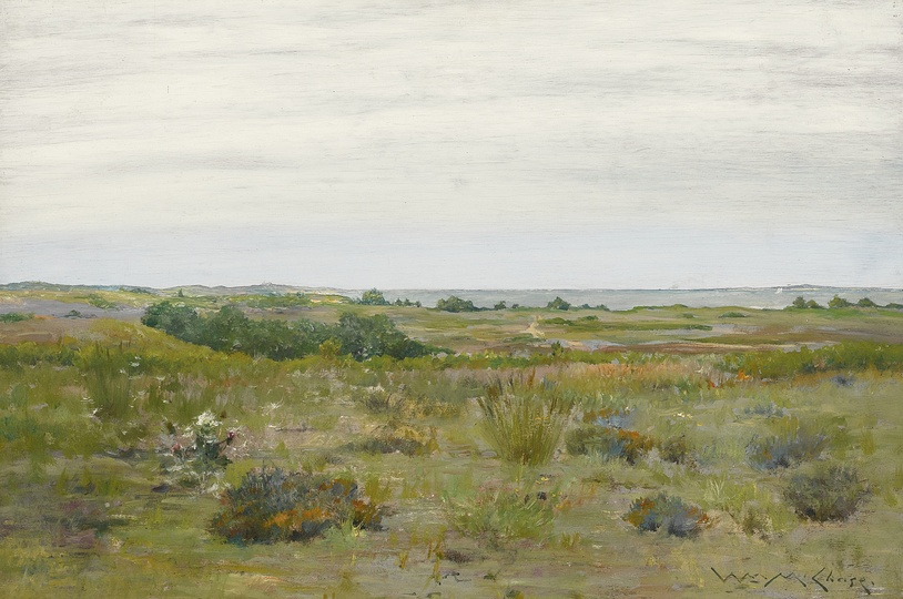 American Modern Paintings at Sotheby´s: William Merritt Chase, The Blown Thistle, Long Island