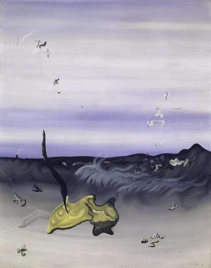 Objects of Desire: Yves Tanguy, La splendeur semblable, 1930 Kunstmuseum Basel, photo: Martin P. Bühler, copyright for the works of Yves Tanguy: © VG Bild-Kunst, Bonn 2019