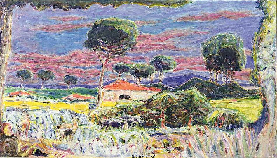 Pierre Bonnard: The Memory of Colors: Landscape in the South, 1939
