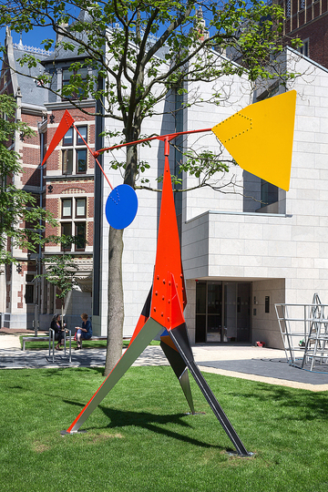 Kinetic Sculptures by Alexander Calder: Alexander Calder, Crinkly, 1969. Centre National des Arts Plastiques, Paris © 2014 Calder Foundation, New York / Artists Rights Society, New York. Photo: Olivier Middendorp