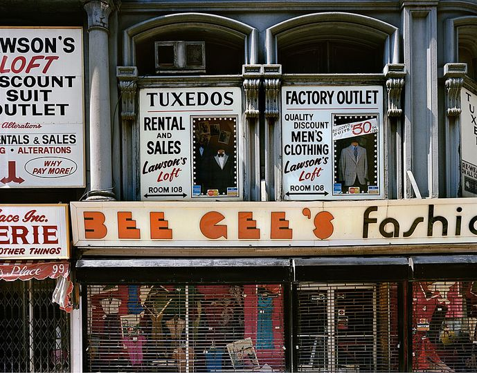 Wayne Sorce:  Urban Color: Bee Gee's, New York, 1984