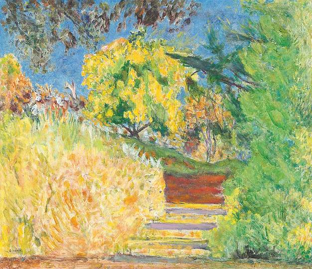 Pierre Bonnard: The Memory of Colors: The Staircase of the Garden of the Artist, 1942–4