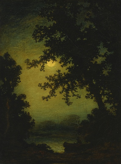 American Modern Paintings at Sotheby´s: Ralph Blakelock, Stilly Night
