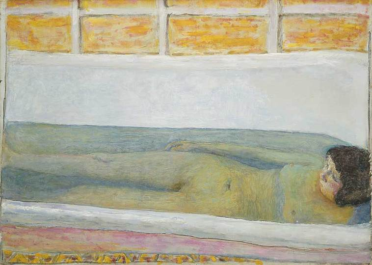 Pierre Bonnard: The Memory of Colors: The Bath Tub, 1925