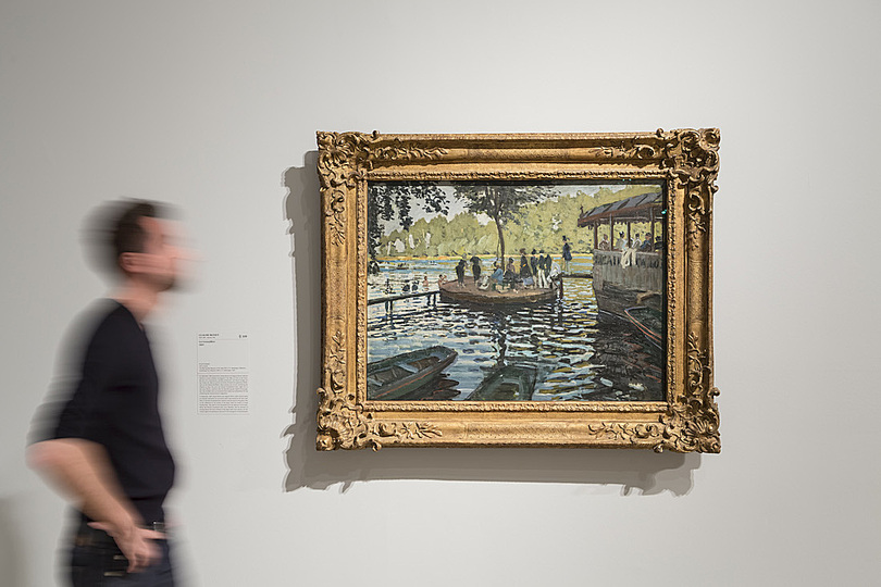 Monet and the Birth of Impressionism: Exhibition view