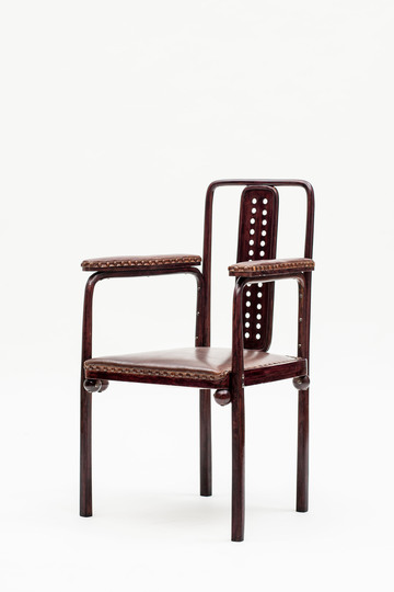 18 classic chairs: Armchair by Josef Hoffmann for Purkersdorf Sanatorium, 1904. Jacksons Collection.