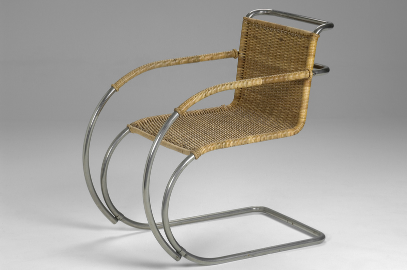 18 classic chairs: MR20 Chair by Ludwig Mies van der Rohe, 1927. Jacksons Collection.