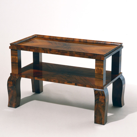 Vienna 1900: Dagobert Peche, Tea Table for the Ast Family, Vienna, 1920. Manufacturer: unknown © MAK/Georg Mayer