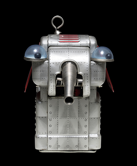 Black Box. A Cabinet of Robotic Curiosities: Space Elephant, Yoshiya, Japan, 1960, 21 cm, collection Rolf Fehlbaum, Photo: Moritz Herzog