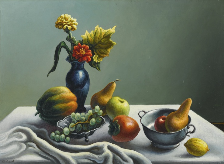 American Modern Paintings at Sotheby´s: Thomas Hart Benton, Still Life