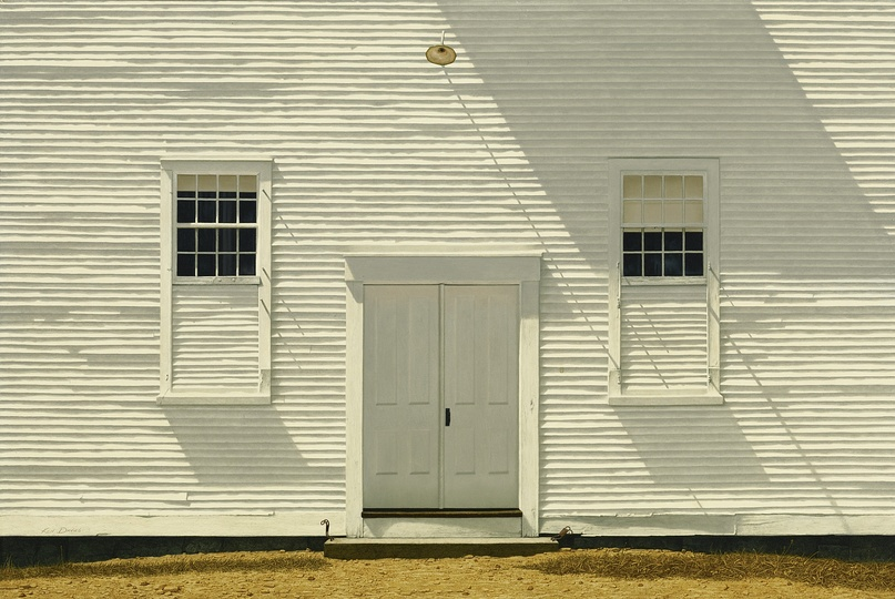 American Modern Paintings at Sotheby´s: Kenneth Southworth Davies, Clapboards & Shadows