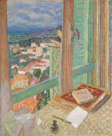 Pierre Bonnard: The Memory of Colors: The Windows, 1925