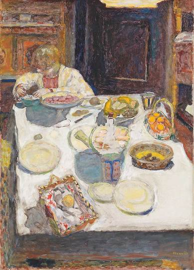 Pierre Bonnard: The Memory of Colors: The Table, 1925, 