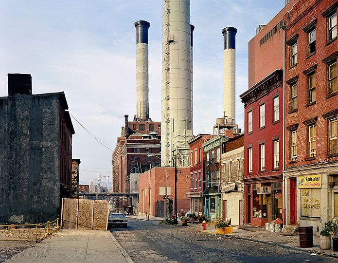 Wayne Sorce:  Urban Color: Vinegar Hill, New York, 1985