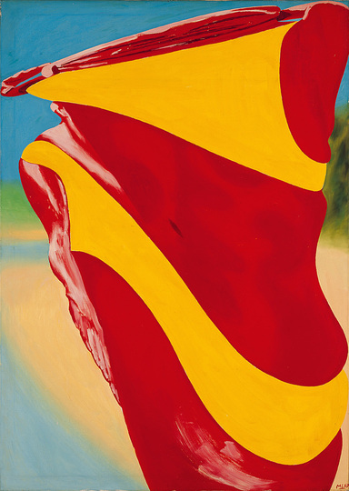 German Pop: Michael Langer, Bikini I, 1967, Oil on canvas 140 x 100 cm © Fischer Kunsthandel & Edition, Berlin