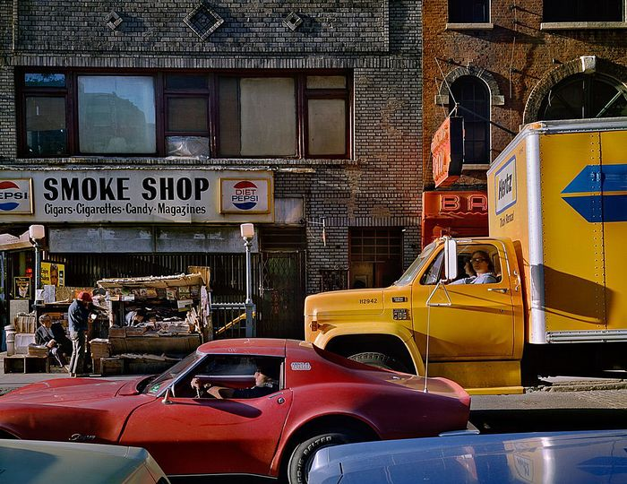 Wayne Sorce:  Urban Color: Varick Street, New York, 1984