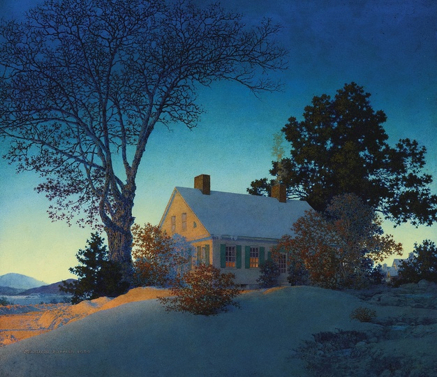 American Modern Paintings at Sotheby´s: Property From A Distinguished Private Collection. Maxfield Parrish, Norwich, Vermont