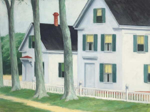 American Modern Paintings at Sotheby´s: Edward Hopper, Two Puritans, 1945.
