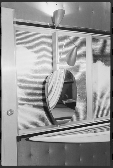 Objects of Desire: Carlo Mollino, interior design for Casa Le Corbusier, Ozon III, 1962 Rivetti, Turin, 1949 © F.L.C/VG Bild-Kunst, Bonn 2019 Vitra Design Museum Archive