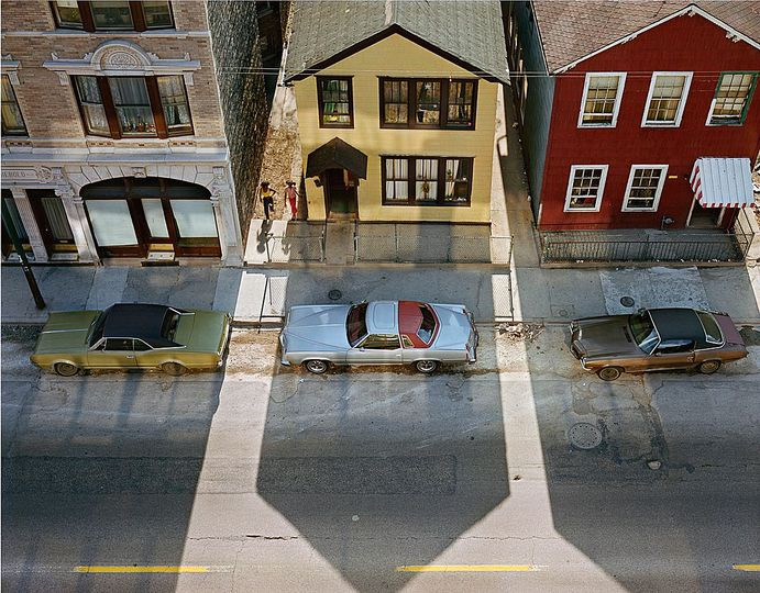 Wayne Sorce:  Urban Color: Halsted Street, Chicago, 1978
