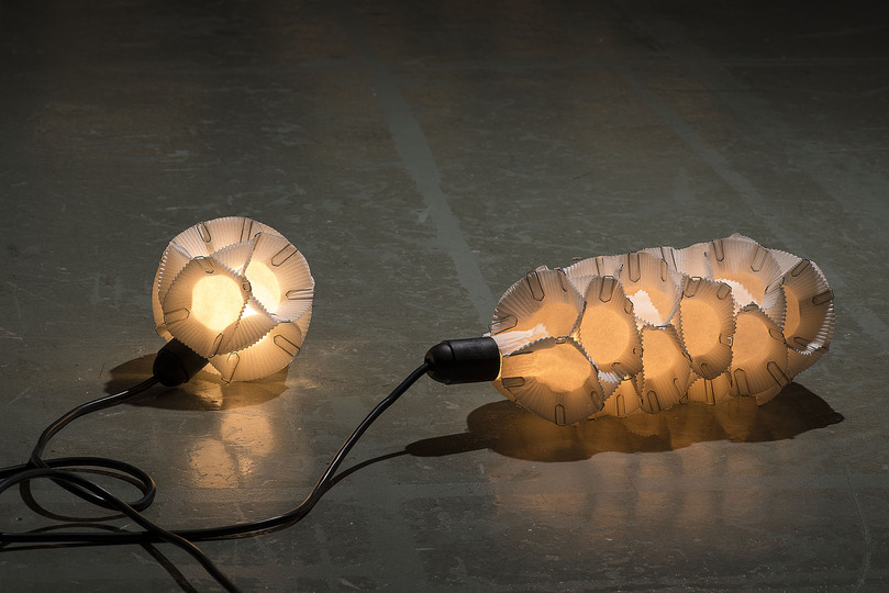 DIY Design: Van Bo Le-Mentzel, 100 Sec Lamp, 2010, reproduction, Museum für Gestaltung Zürich,  2014, photo: Umberto Romito, © ZHdK